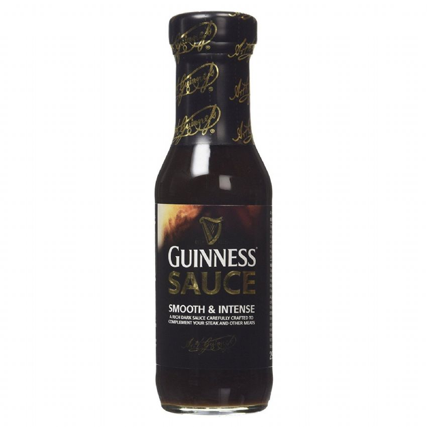 Guinness Black Steak Sauce - Smooth & Intense 295g